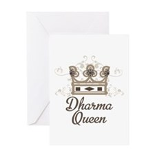 Dharma Queen Greeting Card