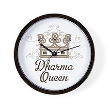Dharma Queen Wall Clock