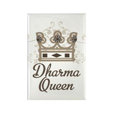Dharma Queen Rectangle Magnet