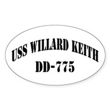 USS WILLARD KEITH Decal