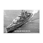 USS WILLARD KEITH Mini Poster Print