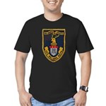 USS WILLARD KEITH Men's Fitted T-Shirt (dark)