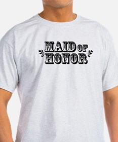 Maid of Honor - Old West T-Shirt