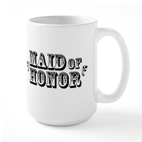 Maid of Honor - Old West Large Mug