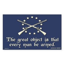 The Great Object - Patrick Henry Decal