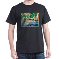 Wood Duck Black T-Shirt