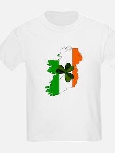 Map of United Ireland Kids T-Shirt