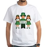 St. Patrick's Day Blessing (Gaelic) White T-Shirt
