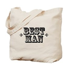 Best Man - Old West Tote Bag