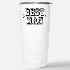 Best Man - Old West Travel Mug