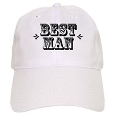 Best Man - Old West Baseball Cap
