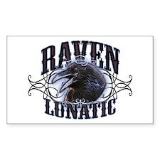 Raven Lunatic Gothic Decal