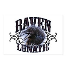 Raven Lunatic Gothic Postcards (Package of 8)