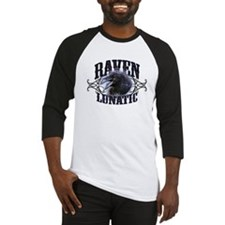 Raven Lunatic Gothic Baseball Jersey