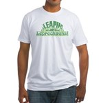 Leapin' Leprechauns!, Fitted T-Shirt
