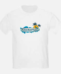 Buckroe Beach SC - Surf Design T-Shirt