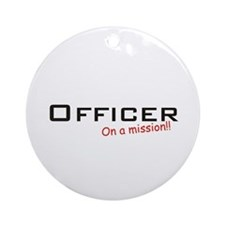 Officer/Mission Ornament (Round)