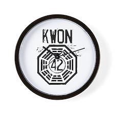 Kwon - 42 - LOST Wall Clock