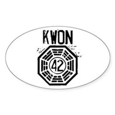 Kwon - 42 - LOST Bumper Stickers