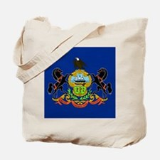 PA Flag Tote Bag