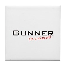 Gunner/Mission Tile Coaster