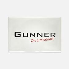Gunner/Mission Rectangle Magnet
