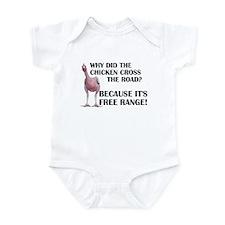 Unique Chicken jokes Infant Bodysuit