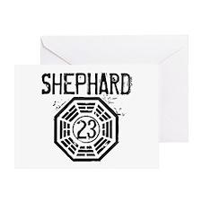 Shephard - 23 - LOST Greeting Card