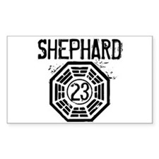 Shephard - 23 - LOST Decal