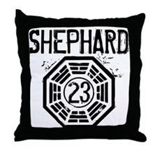 Shephard - 23 - LOST Throw Pillow