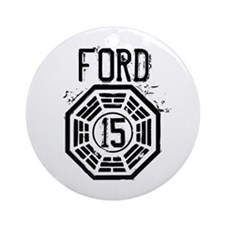 Ford - 15 - LOST Round Ornament