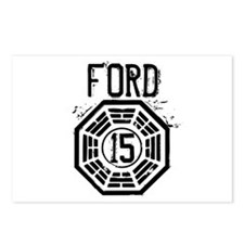 Ford - 15 - LOST Postcards (Package of 8)