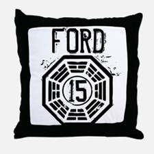 Ford - 15 - LOST Throw Pillow