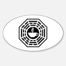 Java Station Sticker (Oval)