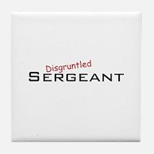 Disgruntled Sergeant Tile Coaster