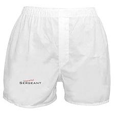 Disgruntled Sergeant Boxer Shorts