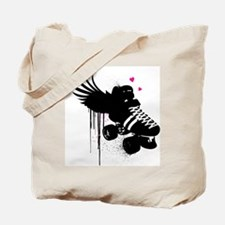 Flat Track Derby Love Tote Bag
