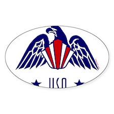 USA Gold Eagle-Art Deco Decal