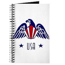 USA Gold Eagle-Art Deco Journal