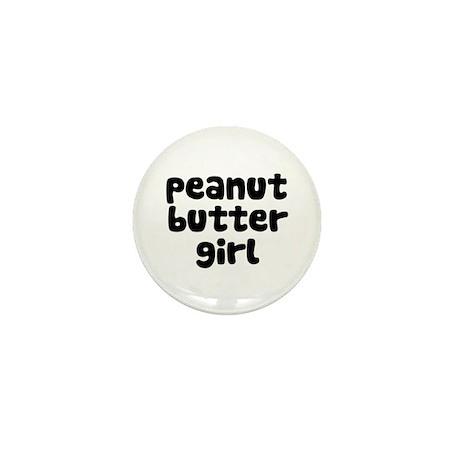 Peanut Butter Girl Mini Button