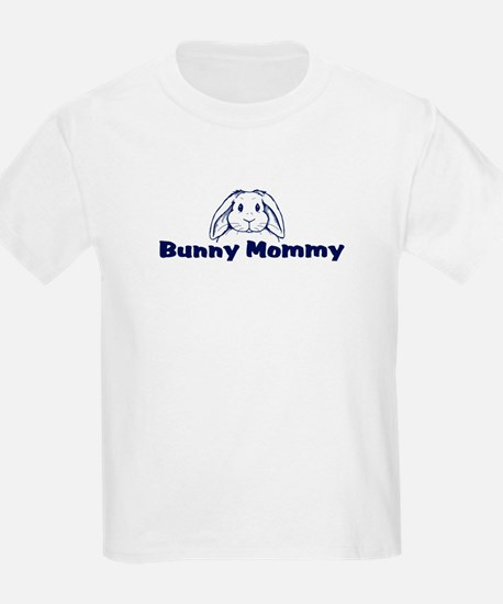 Bunny Mommy Kids T-Shirt