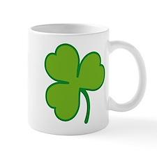 Pretty Green Shamrock Small Mugs