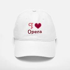 Opera Heart Baseball Baseball Cap