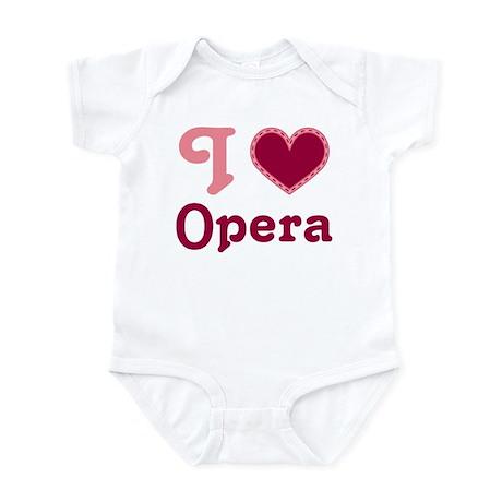 Opera Heart Infant Bodysuit