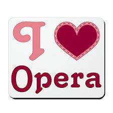 Opera Heart Mousepad