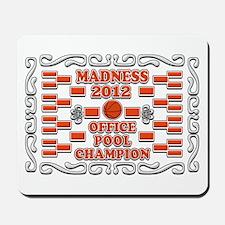 Madness Pool Champ 2012 Mousepad