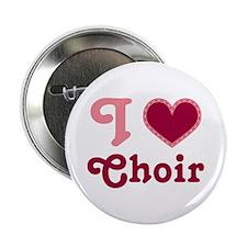 "Choir Heart 2.25"" Button"