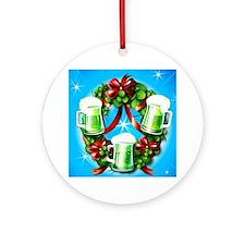 Irish Wreath Ornament (Round)