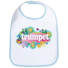 Fun Retro Trumpet Bib