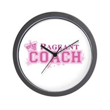 Pageant Coach Wall Clock